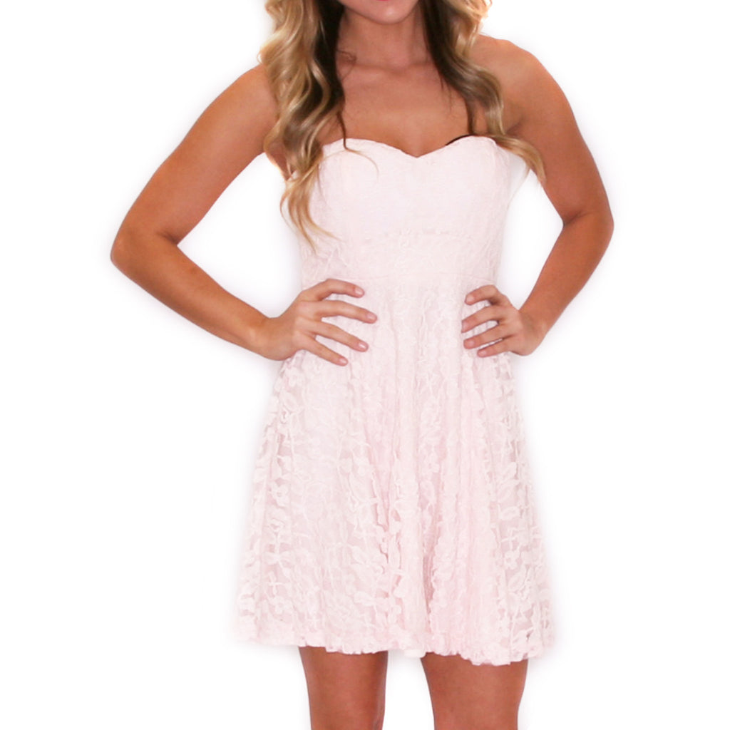Grace Divine Mini Dress in Pink