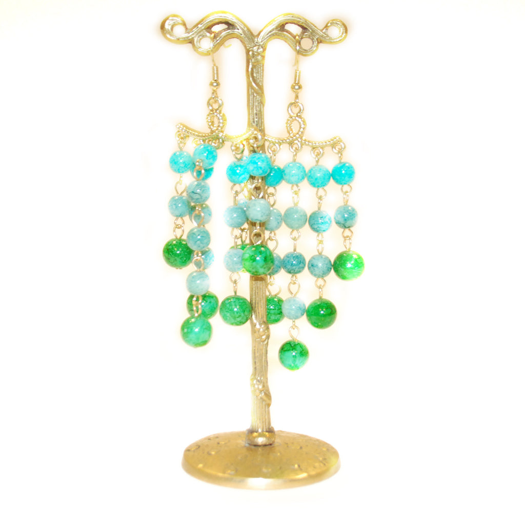 Grecian Ball Earring