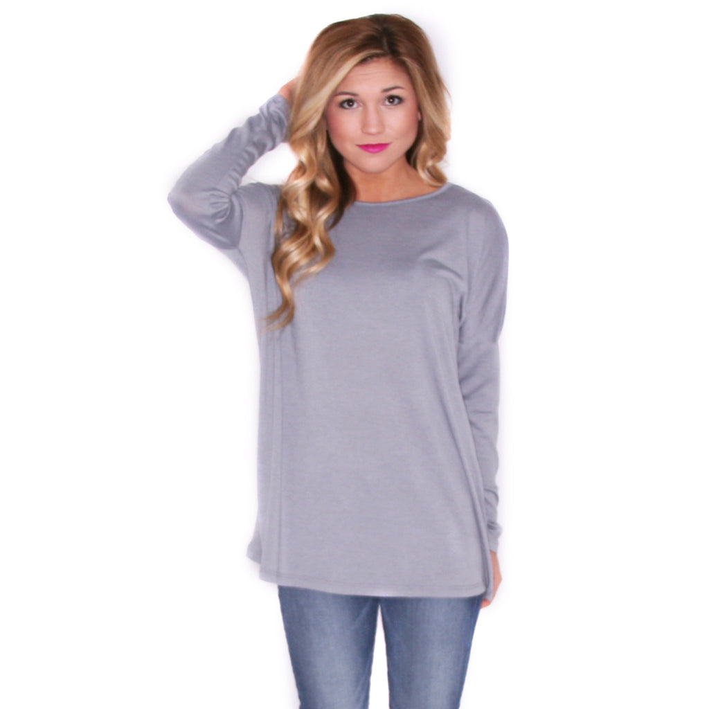 Hand In Hand Tee Light Grey