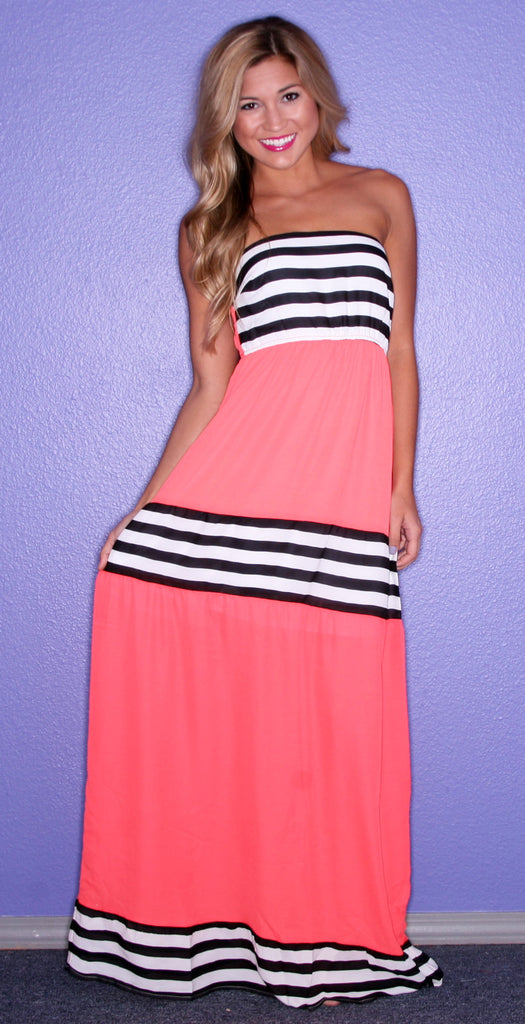 Happily Ever Striped in Orange