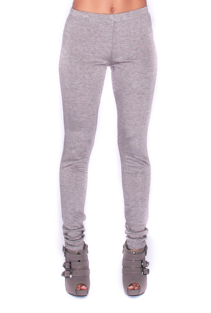 High Waist Legging Grey