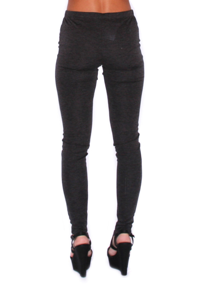 High Waist Legging Charcoal