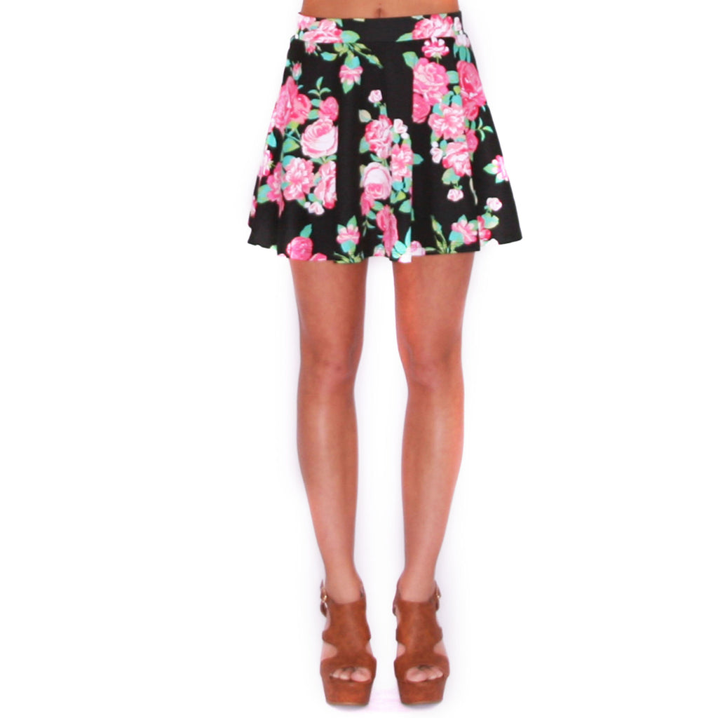 Hollywood Girl Skirt in Black