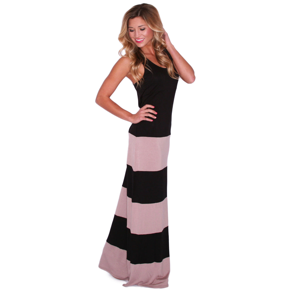 Hot Summer Maxi Black