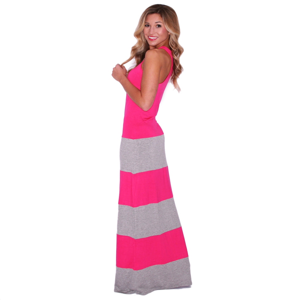 Hot Summer Maxi Fuchsia