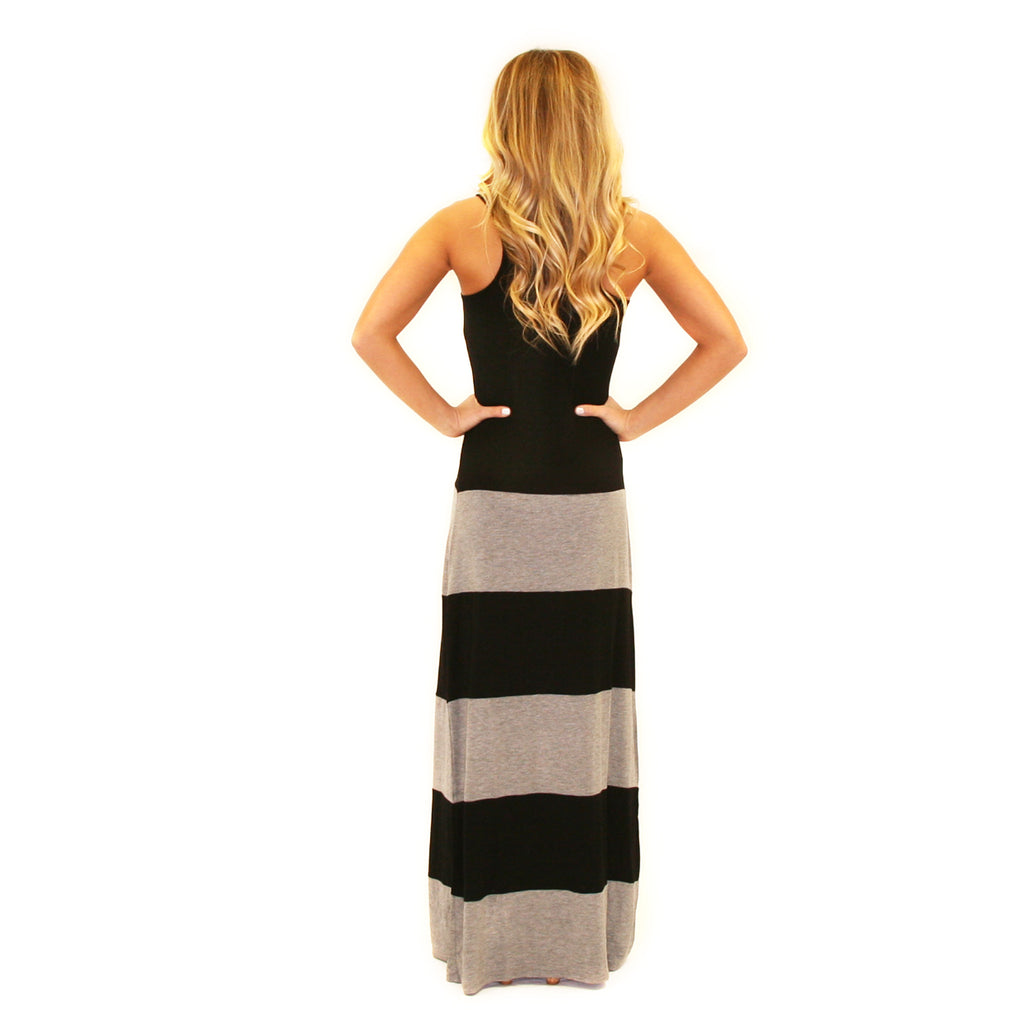 Hot Summer Maxi Grey