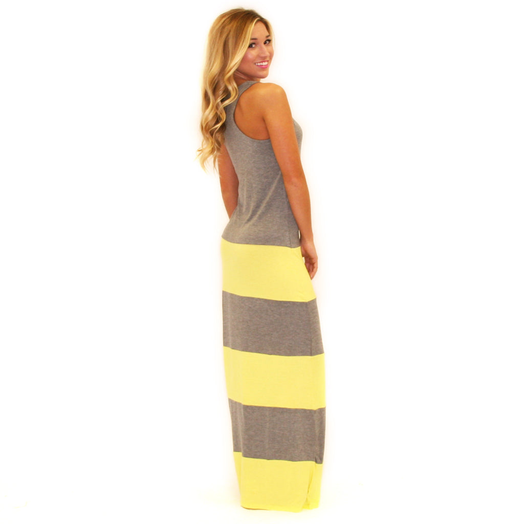 Hot Summer Maxi Yellow