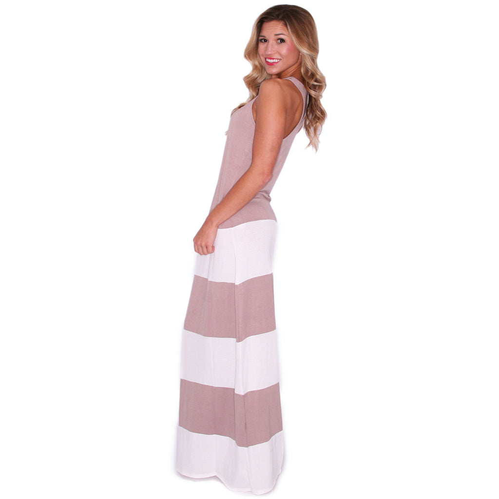 Hot Summer Maxi Taupe
