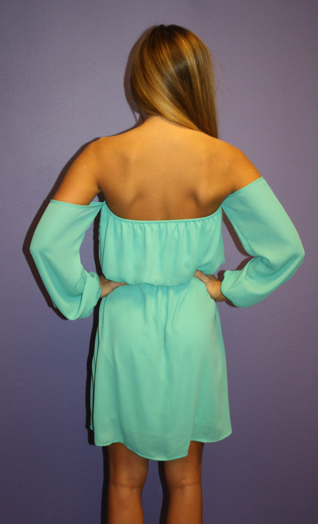 Honeymoon Dress Teal