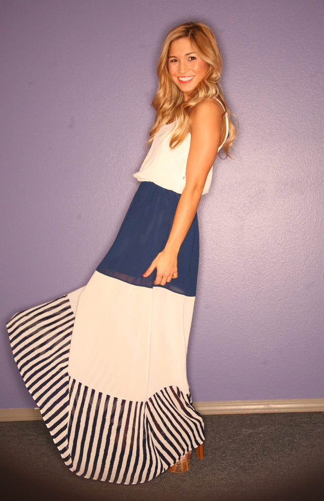 Happy Stripe Maxi