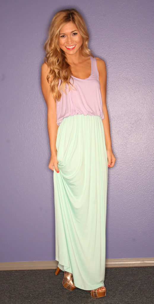 Beachy Keen Maxi in Mint