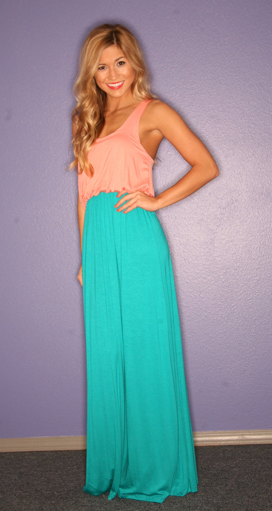 Beachy Keen Maxi in Jade