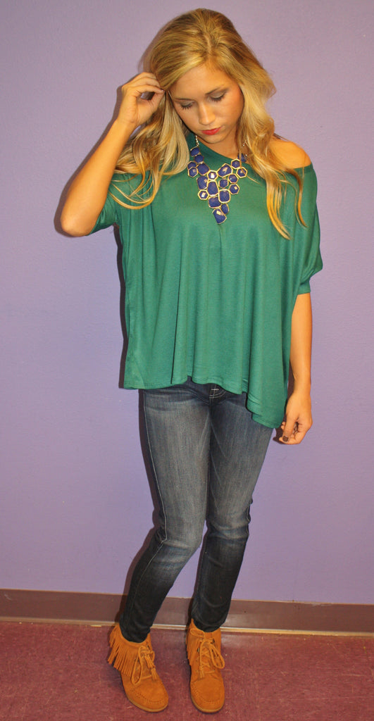 Fall Breeze Tee Jade