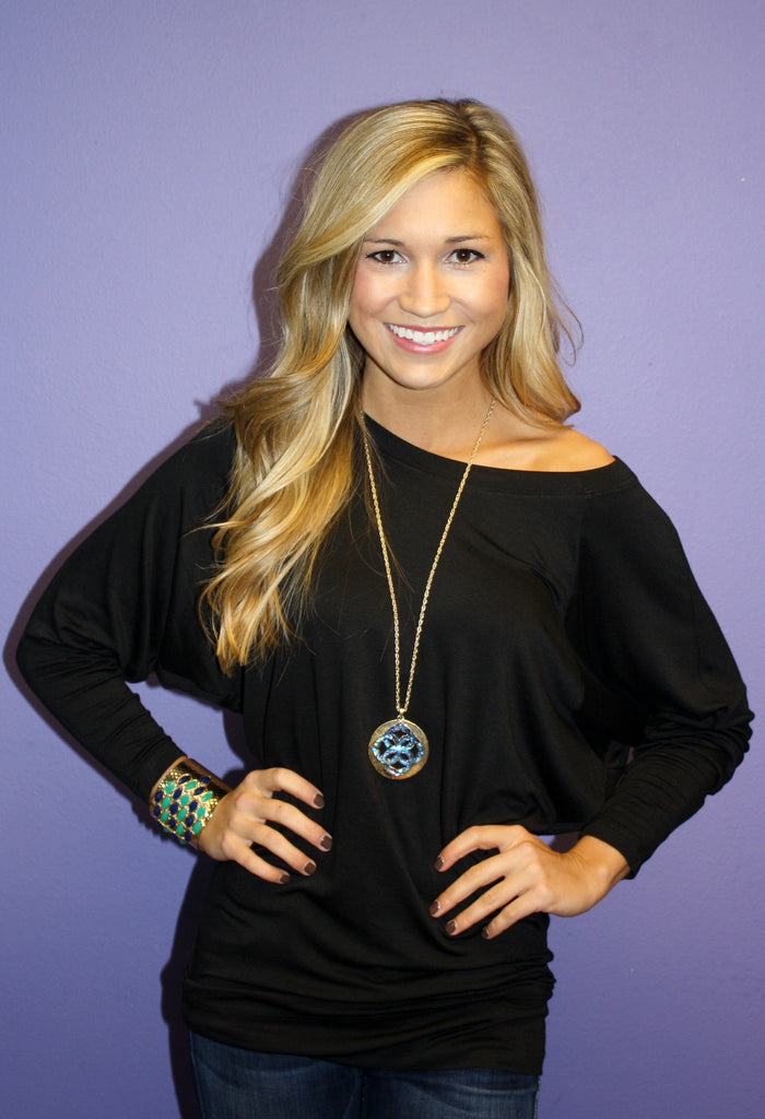 Favorite Tunic Black