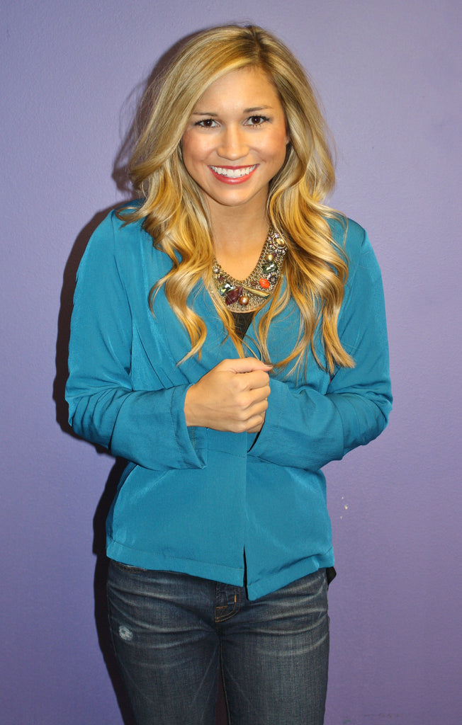 Perfect Teal Blazer