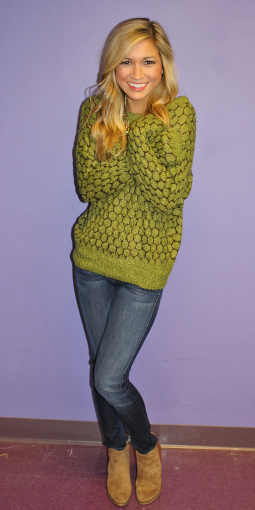 Perfect Sage Sweater