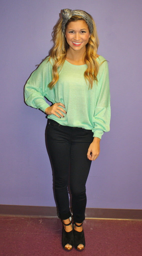 Mint Kiss Sweater
