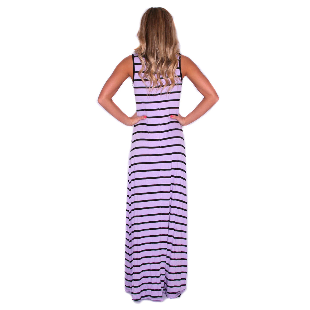 Island Girl Maxi in Lavender