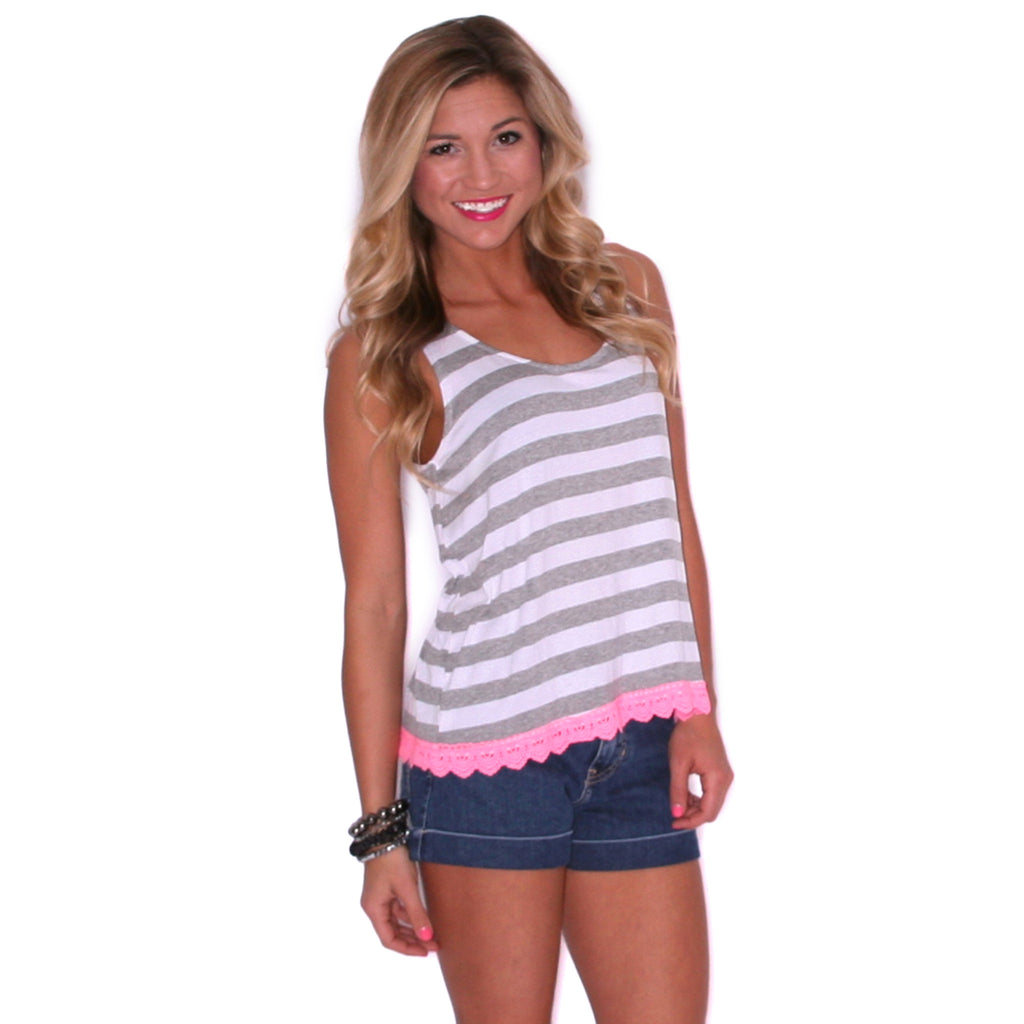 Island Girl in Heather Grey