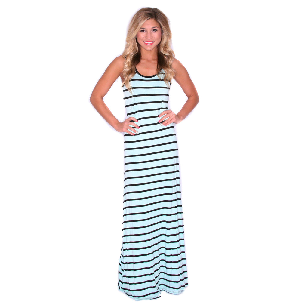 Island Girl Maxi in Mint