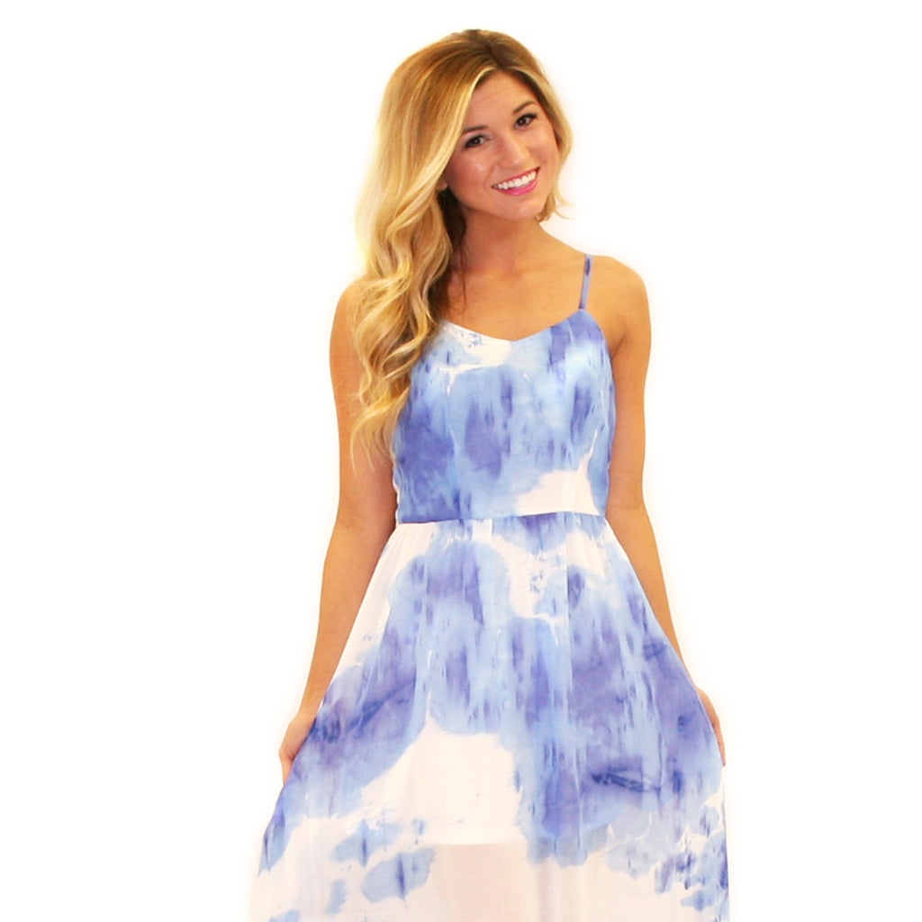Island Retreat Maxi Blue