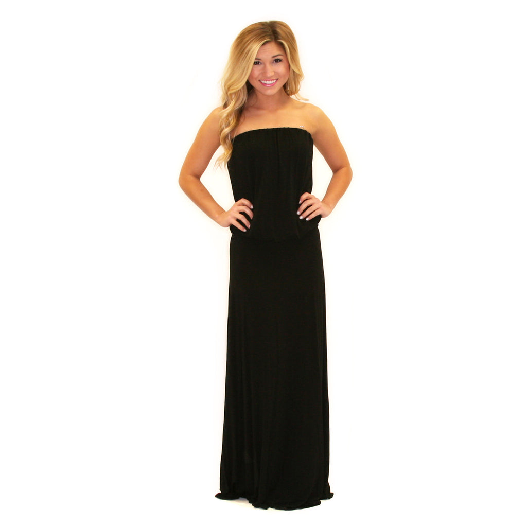 On Island Time Maxi Black