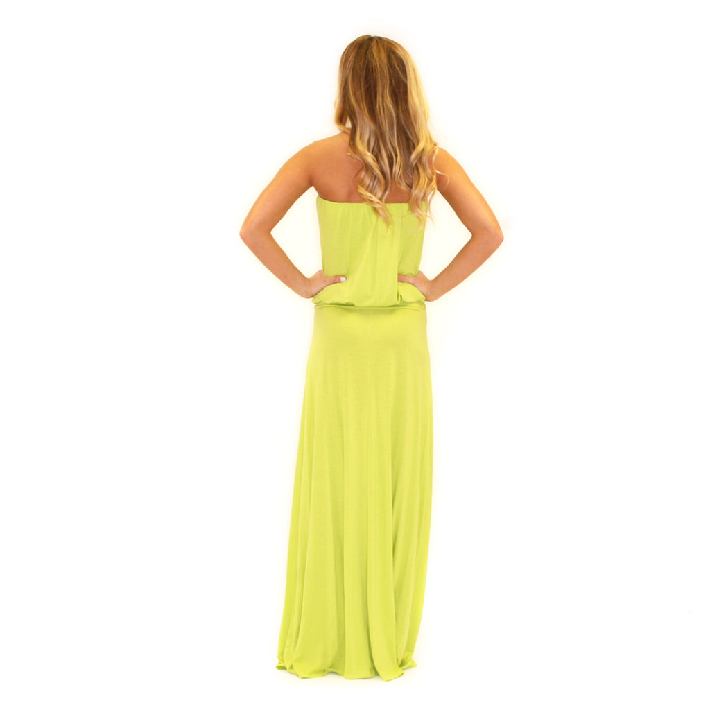 On Island Time Maxi Lime