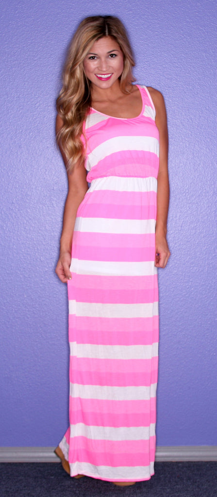 Kiss Me Stripe Pink