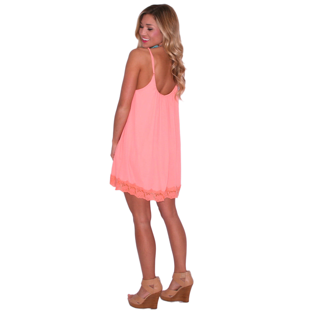 Kiss On The Chic in Peach
