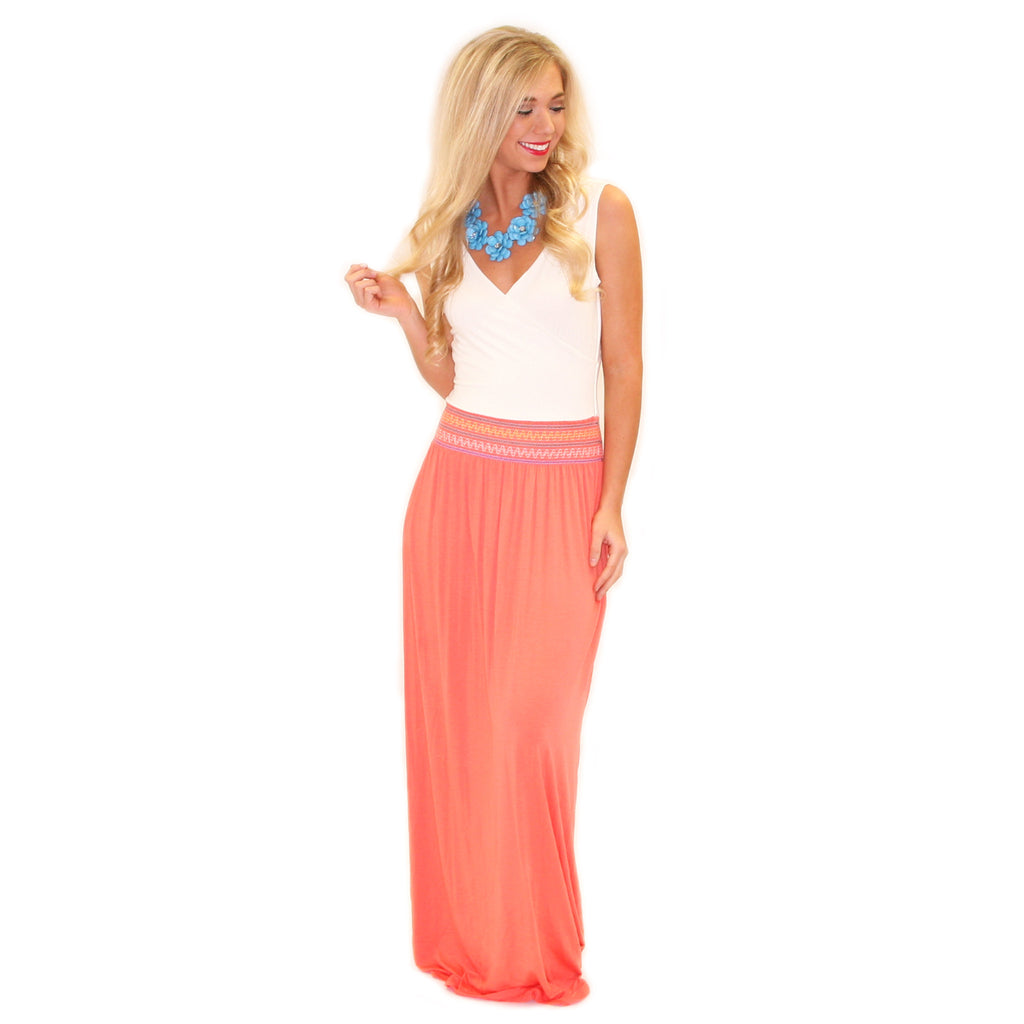 La Bella Maxi in Coral