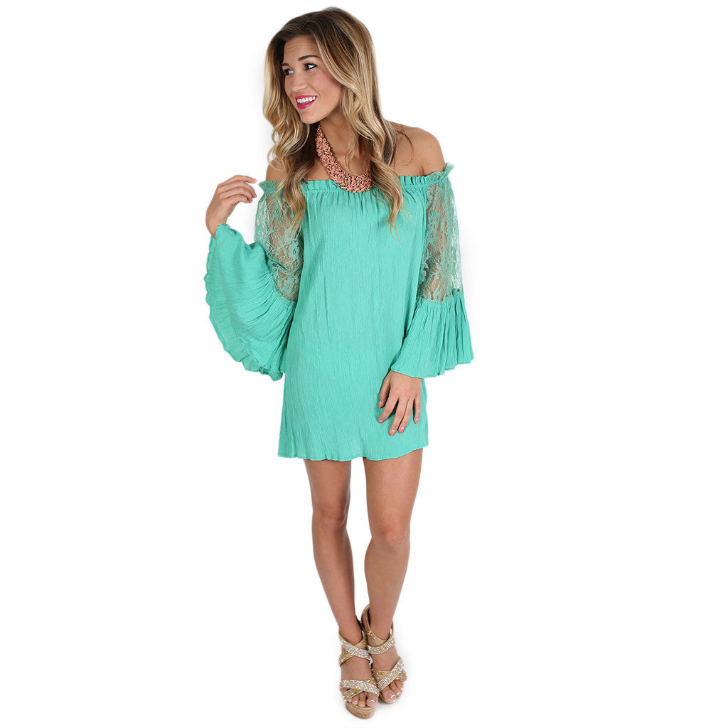 Life To Love Tunic in Jade
