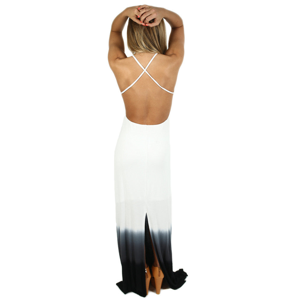 Living In Bliss Maxi in Black