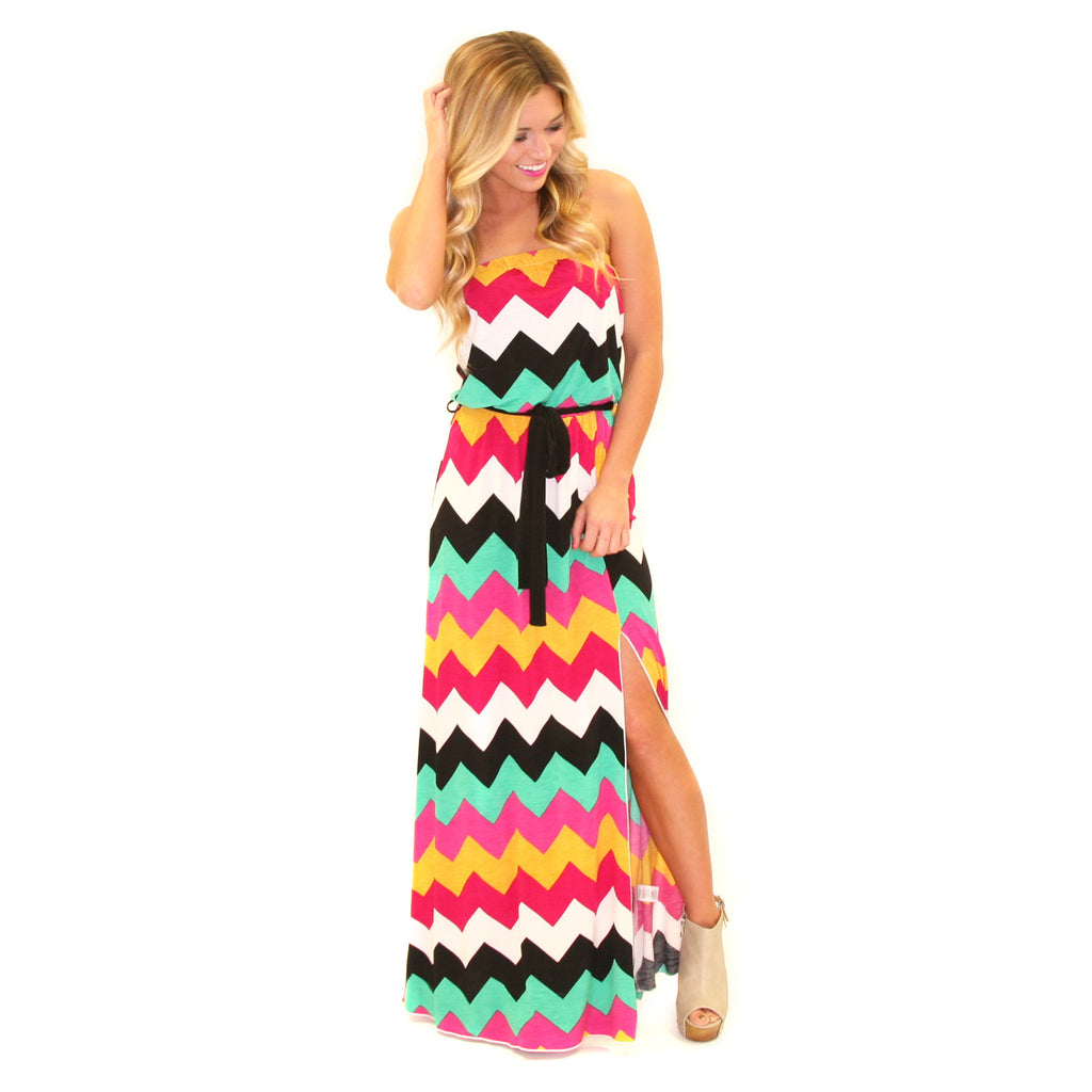 Living With Color Maxi Green/Yellow