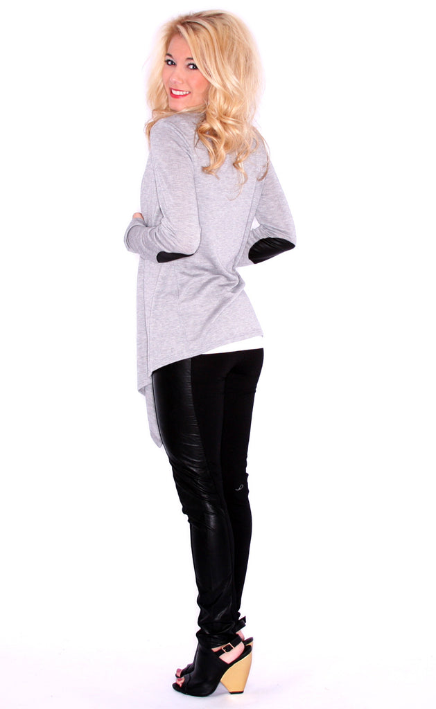 Lola Divine Cardi Heather Grey