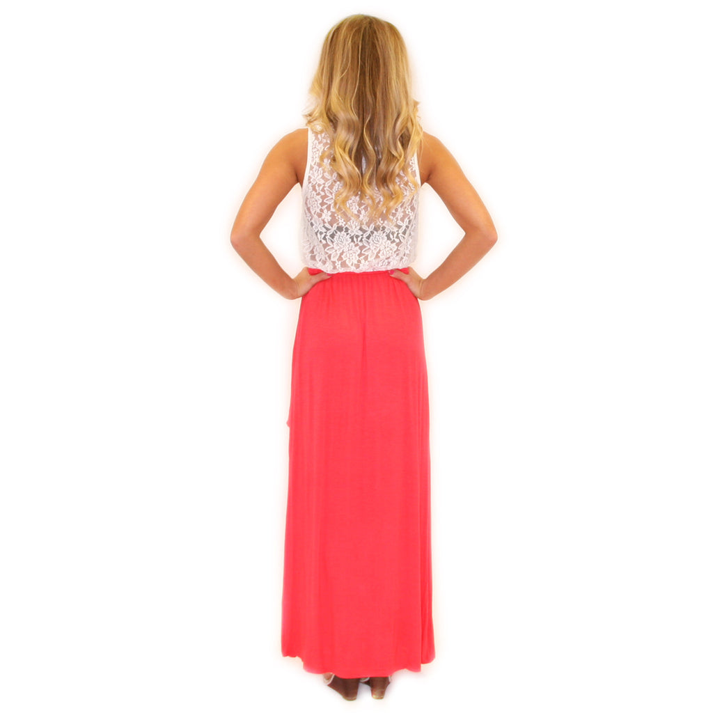Long Walks On The Beach Maxi Coral