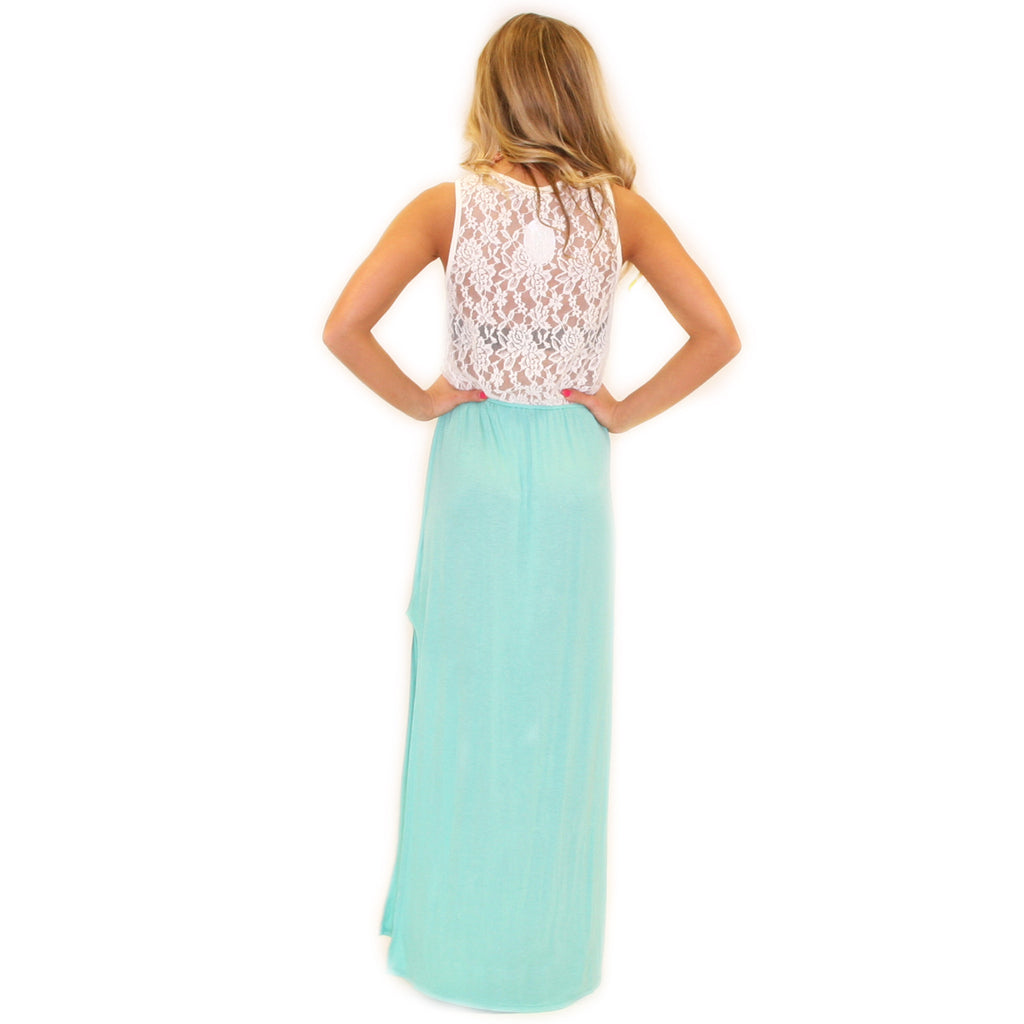 Long Walks On The Beach Maxi Mint
