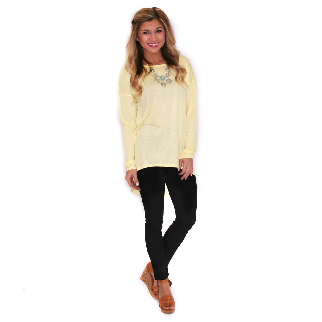 Love at First Sight Tee Yellow