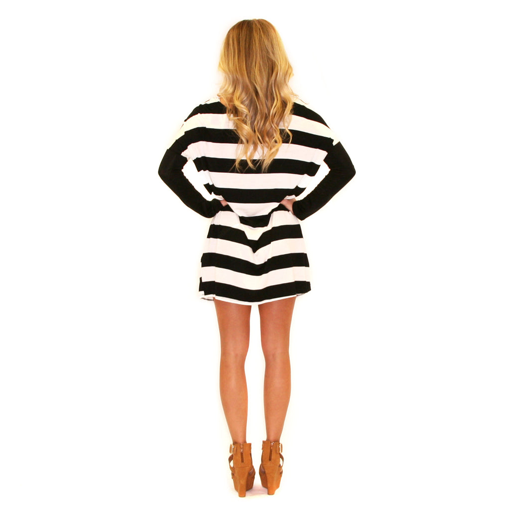 Lovely Always Stripe Black
