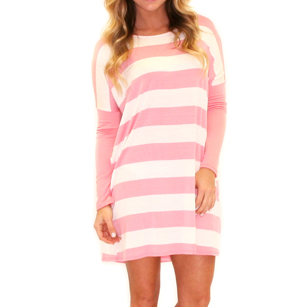 Lovely Always Stripe Pink