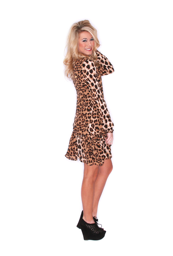 Lovely in Cheetah Brown