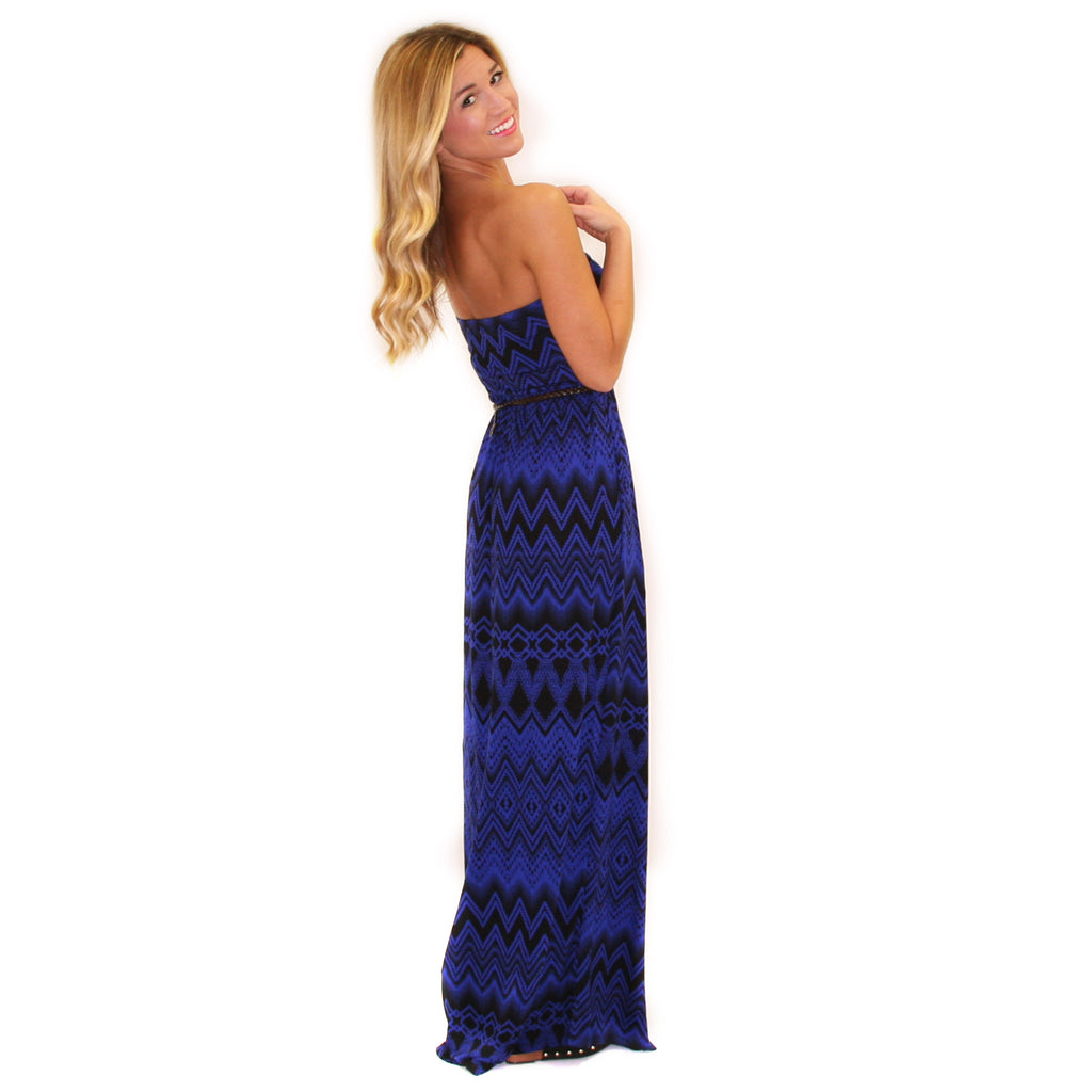 Lovely Royals Maxi in Blue