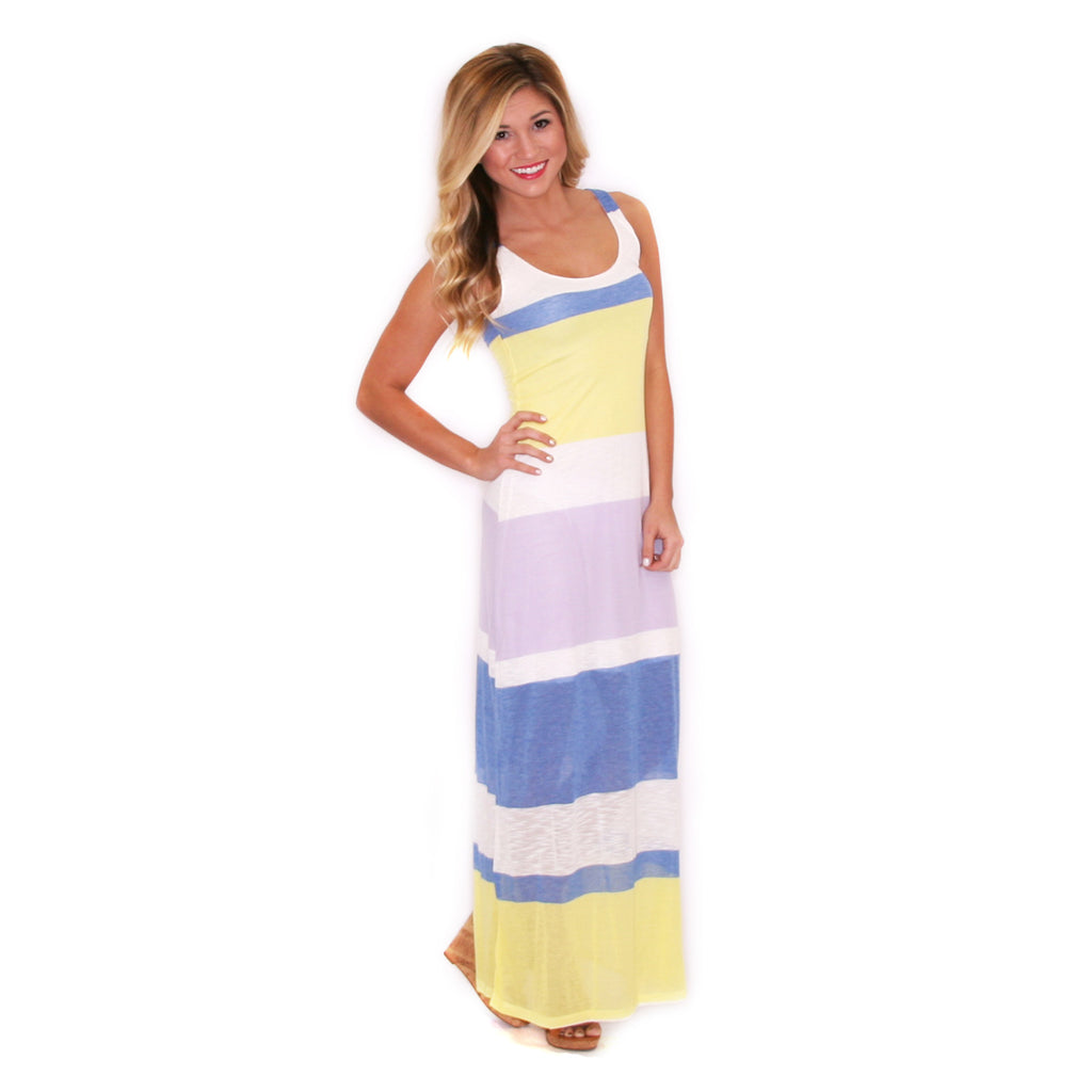 Lovely Stripe Maxi