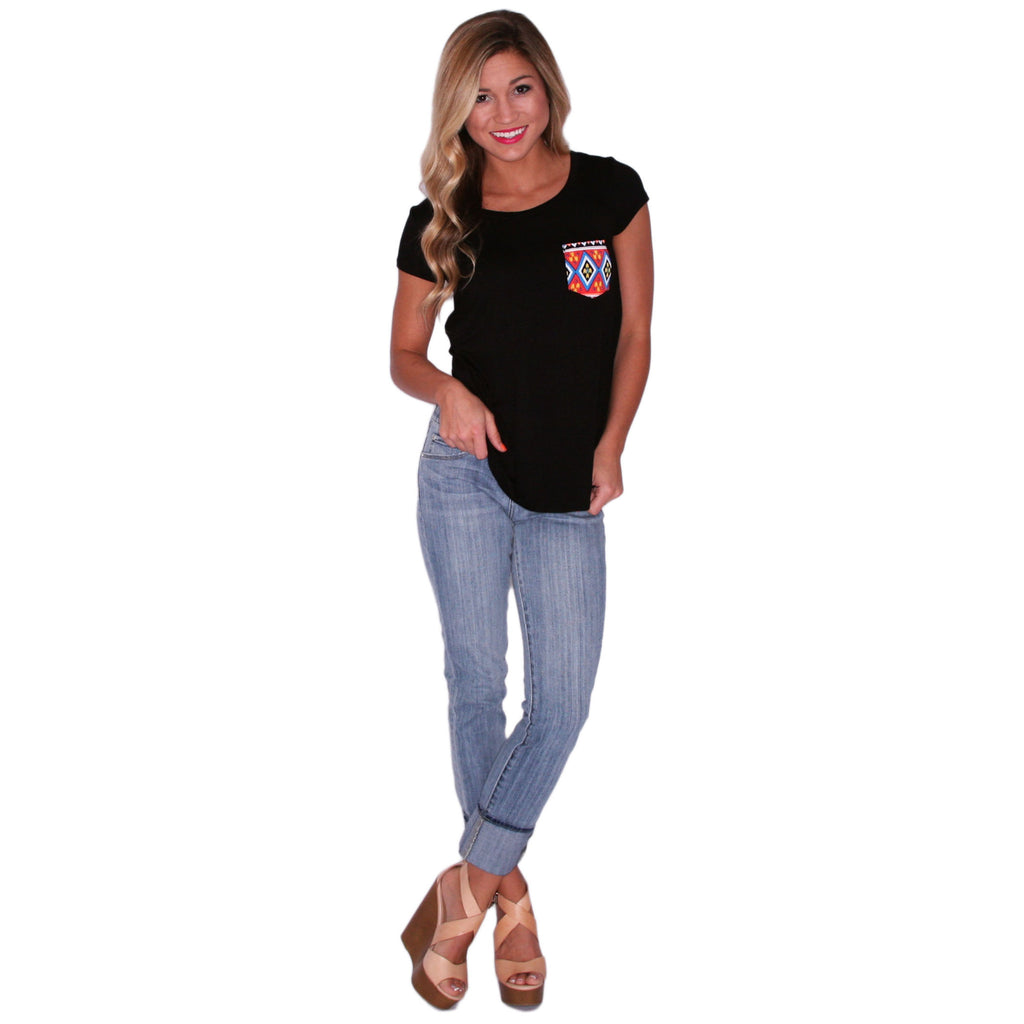 Lovestruck Tee in Black