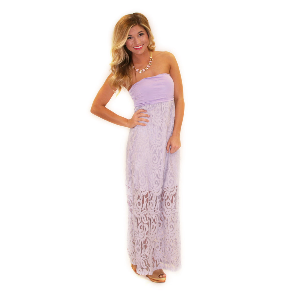 Lovely Grace Maxi Lilac