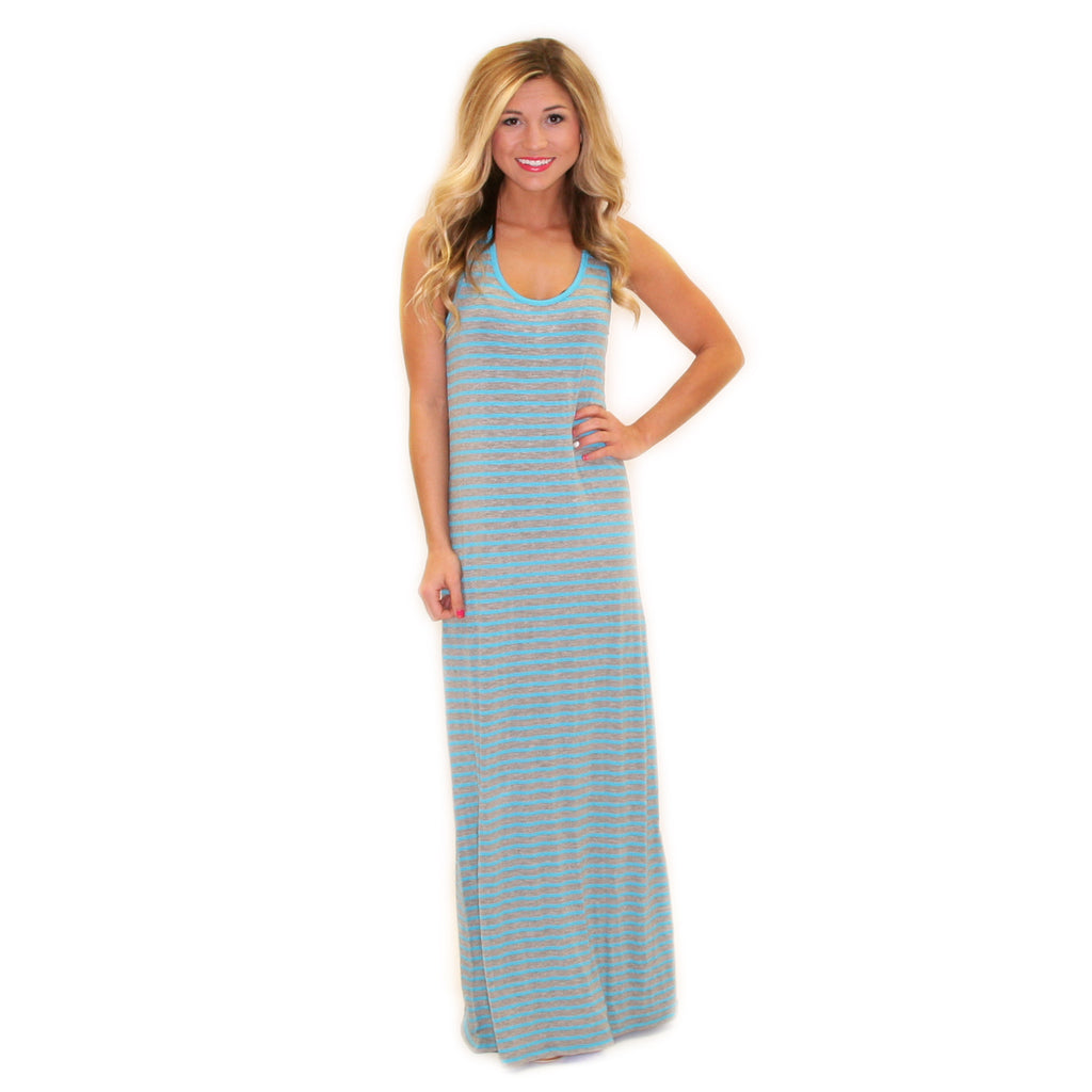 Beach Waves Maxi Aqua