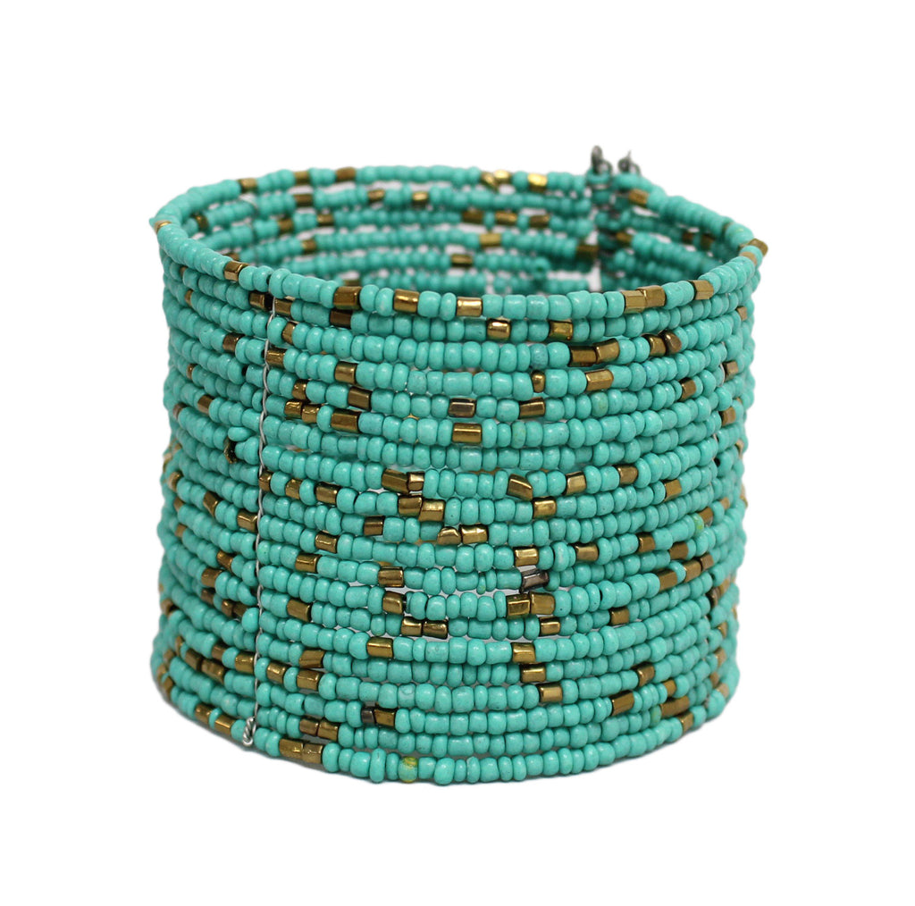Making Memories Bracelet in Teal