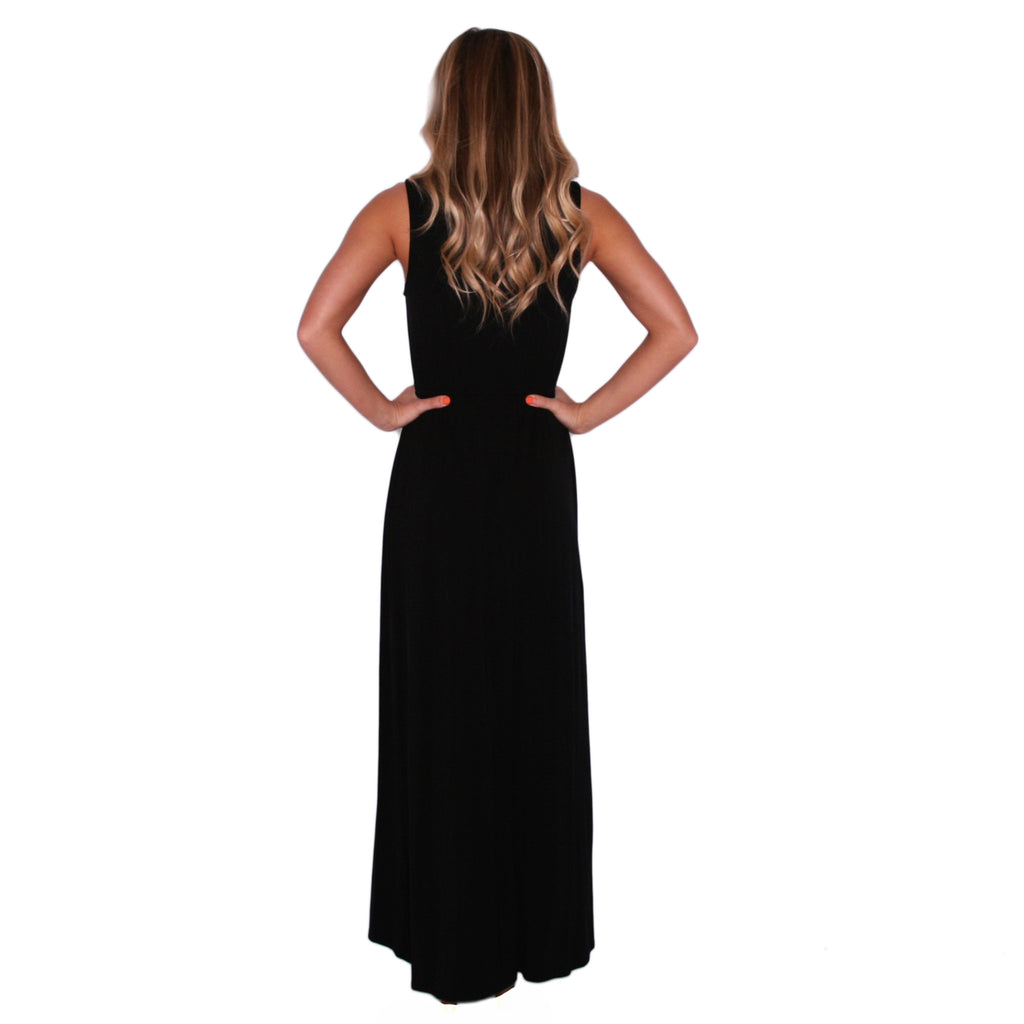 Malibu Sipping Maxi in Black