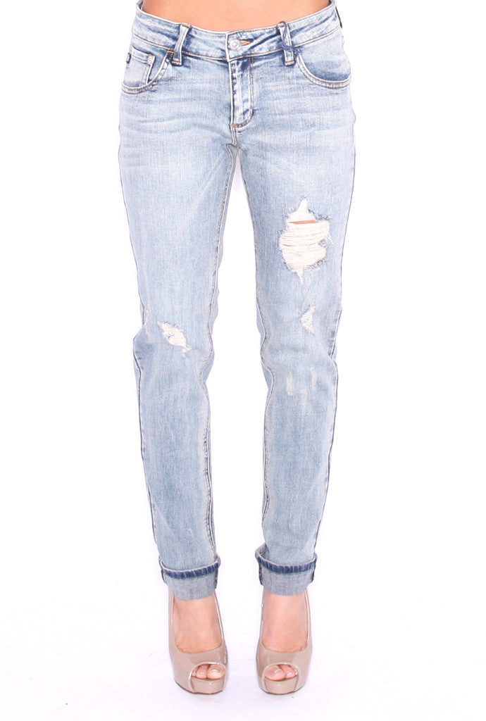 Medium Blue Boyfriend Jean
