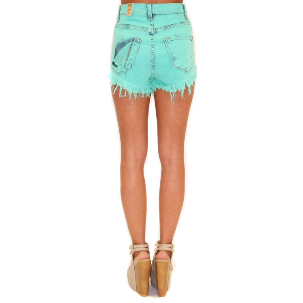 Mint Crush Cut Offs