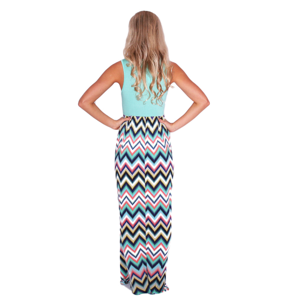 Mint Lovely Maxi